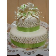Торт весільний 80 фото