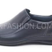 Туфли мужские Kadar чёрного цвета 055 фото