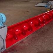 Конвейер винтовой радиально-поворотный У13-УРПК для механизированной выгрузки зерна, оставшегося в металлических силосах после истечения его самотеком через выпускную воронку в днище силоса фото