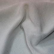 Ткань велюр стрейч, молочный фото