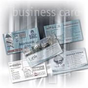 Изготовление высококачественных визиток фото