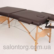 Двухсекционный деревянный складной стол LOTOS фото