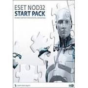 ESET NOD32 START PACK- базовый комплект безопасности компьютера, лицензия на 1 год на 1ПК фото