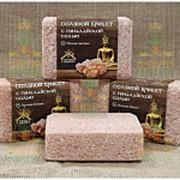 """Соляной брикет """"Соляная баня"""" с Гималайской солью, 0,2 кг (Наш Кедр), 4649 фото"""