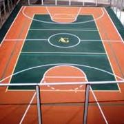 Устройство резиновых покрытий для детских и спортивных площадок. Благоустройство и озеленение фото