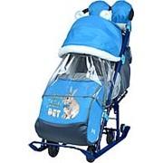 Санки - коляска комбинированная Ника НД7-2 фото