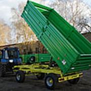 Прицеп тракторный самосвальный 2ПТС 8 фото