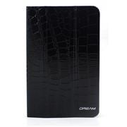 """Чехол универсальный для планшетов 8"""" слим черный крокодил Dream фото"""