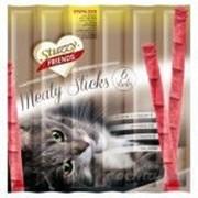 Палочки Stuzzy Friends для стерилизованных кошек с курицей 6шт. по 5 гр. фото