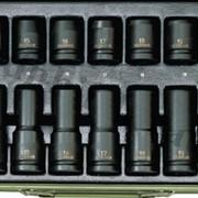 Набор головок для пневмоинструмента. № 23942 фото