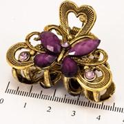Краб (5 см.) бронзовый с цветными камнями 213276(74) фото