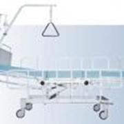 Кровать медицинская многофункциональная трёхсекционная КММп. фото