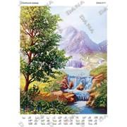 Схема для вишивання Альпійські краєвиди фото