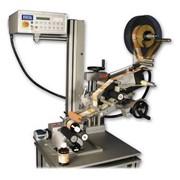 Машина полуавтоматическая этикетировка круглых продуктов TNC фото