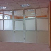 Офисные перегородки ПВХ и алюминий фото