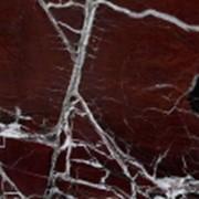 Плиты большемерные (слэбы) мраморные Россо Леванто / Rosso Levanto фото