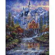 Картина по номерам Осенний замок Нойшванштайн фото