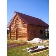 Будівництво будинків зі зрубу під ключ фото
