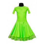 Рейтинговое платье (бейсик) Модель 514 фото