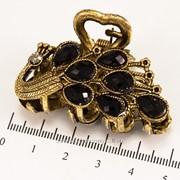 Краб (5 см.) бронзовый с цветными камнями 213276(39) фото