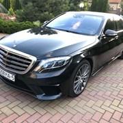 Аренда авто с водителем в Минске. Mercedes W222 фото
