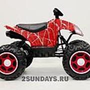 Детский квадроцикл на аккумуляторе T777TT Spyder красный фото