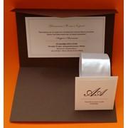 Свадебная полиграфия (пригласительные, открытки, бонбоньерки) фото