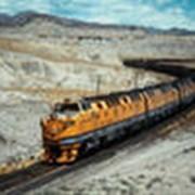 Перевозка груза товарным поездом фото