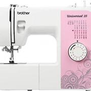 Машины бытовые швейные Швейная машина BROTHER Universal 25 (25 строчек, нитевдеватель, регулятор длины стежка) New фото