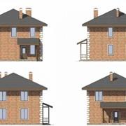 Проект дома Сандерленд 40-04 под ключ фото