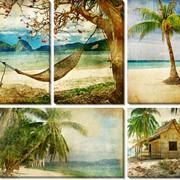 Модульная картина Пляж, Неизвестен фото