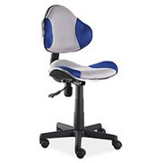 Кресло компьютерное Signal Q-G2 (сине-серый) фото