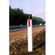Столбики сигнальные дорожные фото