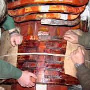 Шлифовка шеек роторов и шеек уплотнений валов генераторов фото