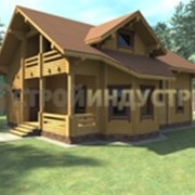 Проектирование деревянных и кирпичных коттеджей фото