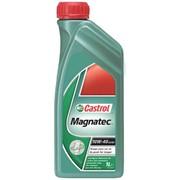 Масло моторное полусинтетическое CASTROL MAGNATEC 10W40 1L фото