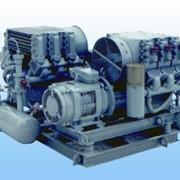 Поршневая электрическая переносная (передвижная) компрессорная станция ПКС-7АМ фото