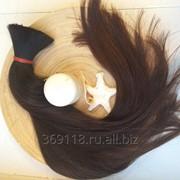 Неокрашенные черные волосы для наращивания фото