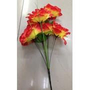 Цветок искусственный 8 цветков гибискуса 0238A-12 фото