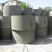 Кольца крышки дно бетонные фото