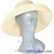 Шляпа мягкая с украшением в виде банта 38/43-1 фото