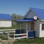 Жилая бытовка, летний домик для турбазы фото
