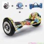 "Мини-сигвей (гироскутер) Smart Balance Suv 10"" с колонками +bluetooth +сумка фото"