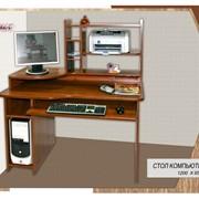Компьютерный стол №6 фото