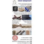 Сальниковая набивка (ЛП-31), льняные, пеньк.канаты, шпагаты, шнуры. фото