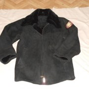 Куртка нагольная для полициии фото
