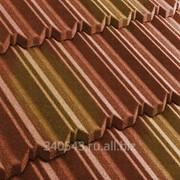 Черепица композитная Metrotile MetroClassic Терракот-желтая фото