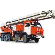 Автоподъемник коленчатый пожарный АКП-50 (шасси КАМАЗ-6540 8х4) фото