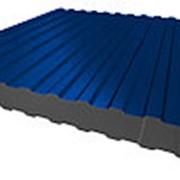 Профнастил НС-8 0,5мм Ультрамарин RAL5002 фото