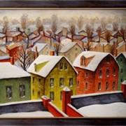 Картина Пригород, зима, Фридман, Арнольд фото